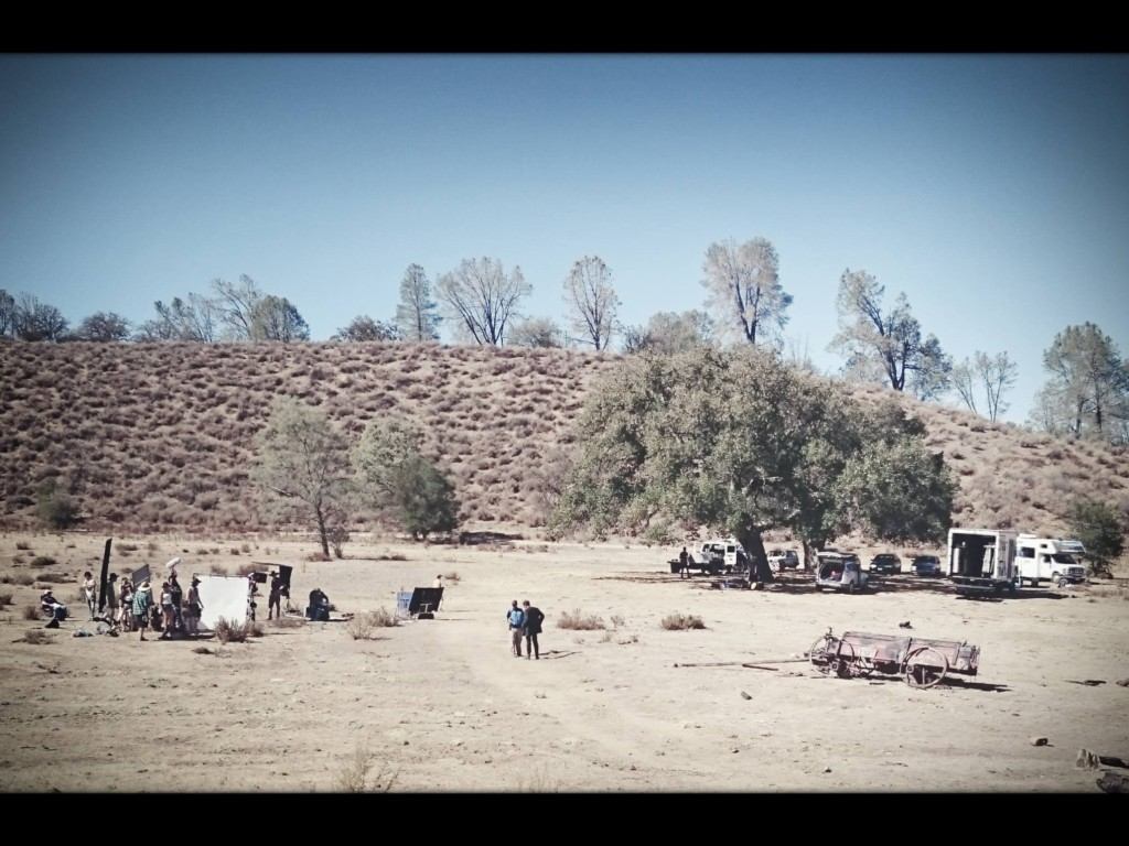 On location at Fox Creek Ranch in Hollister, CA